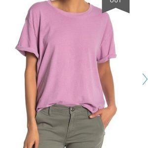 Oversized frame lavender T-shirt size xs
